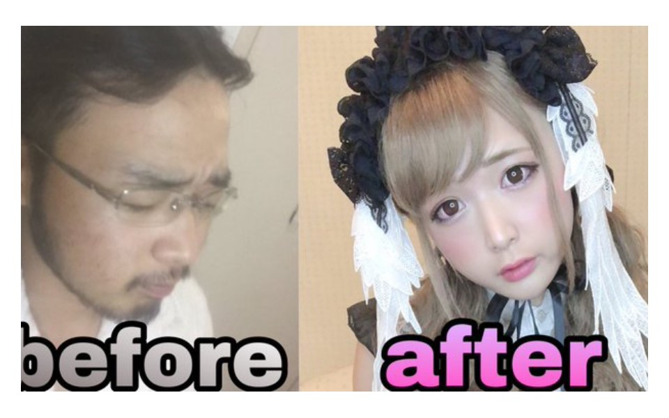 Xem YouTuber trung niên hóa thân thành hầu gái xinh đẹp lại thấy rùng mình là sao?