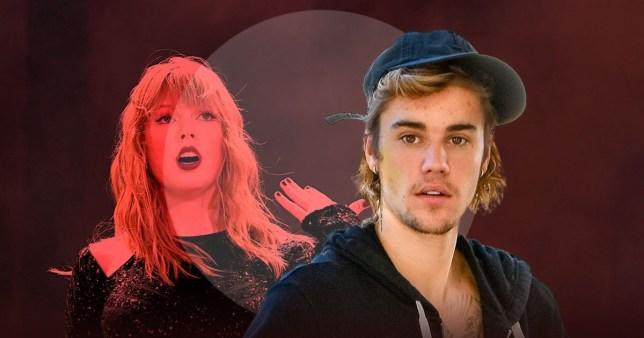 Động thái kì lạ của Justin Bieber trước cuộc chiến giữa Taylor Swift với hãng đĩa cũ