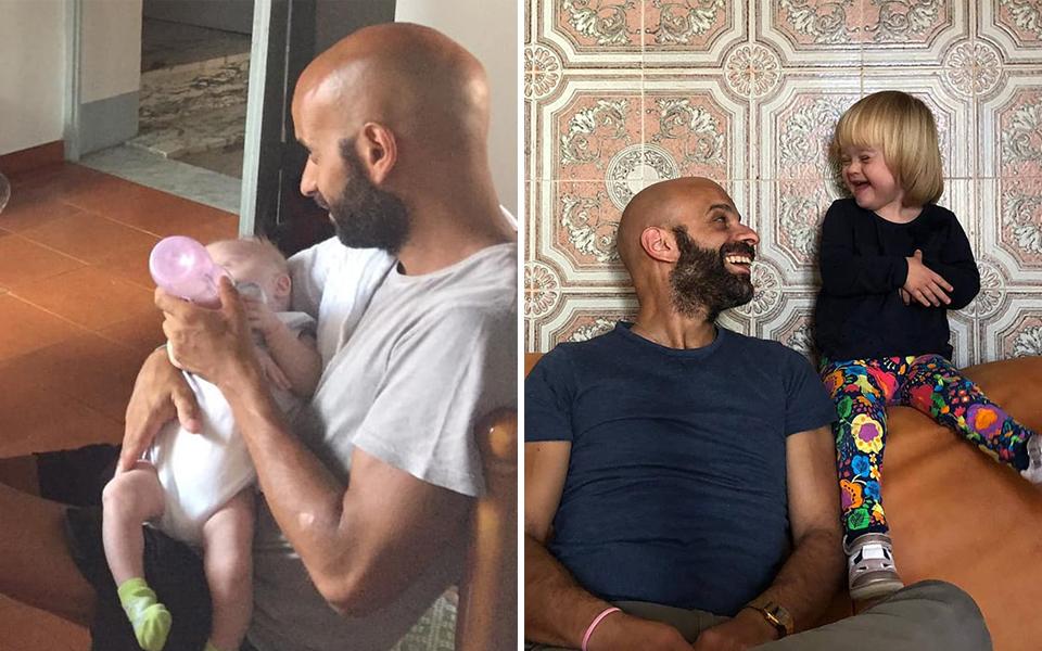 Người cha độc thân nhận nuôi bé gái mắc hội chứng Down đã bị hơn 20 gia đình từ chối