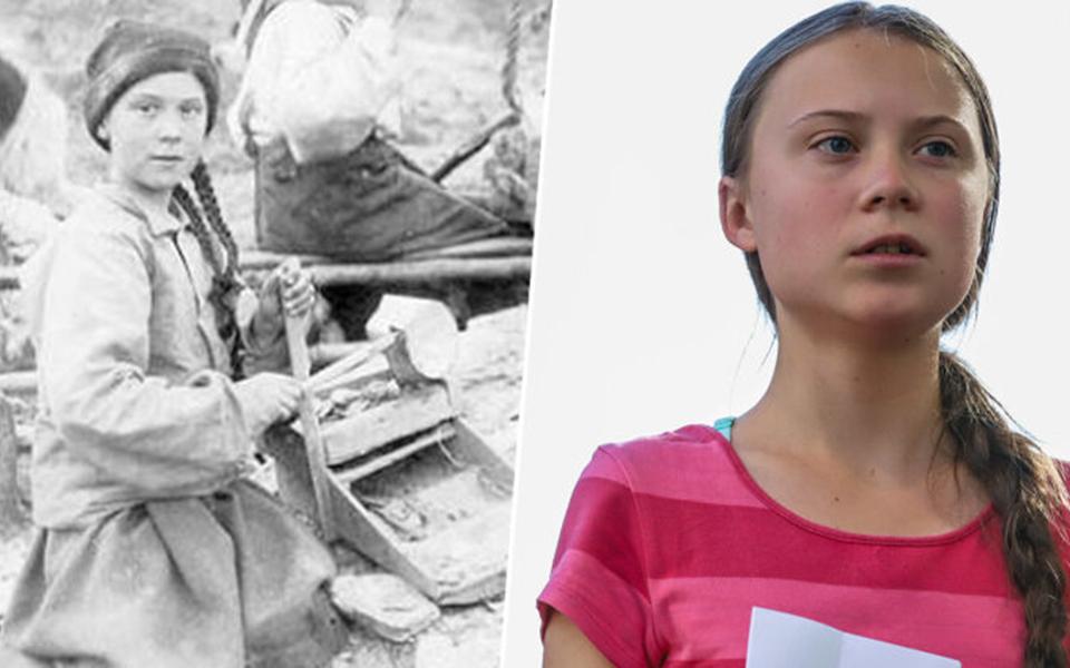 Thuyết âm mưu: Greta Thunberg là người du hành thời gian, đến cảnh báo chúng ta về tương lai