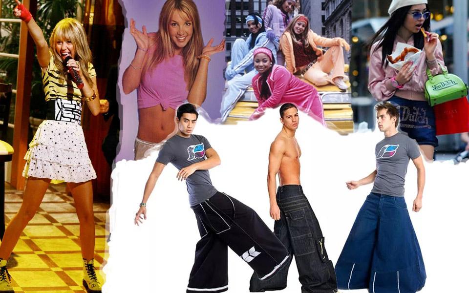 Bồi hồi nhớ lại loạt xu hướng thời trang phá cách thời 'trẻ trâu' của những năm 2000