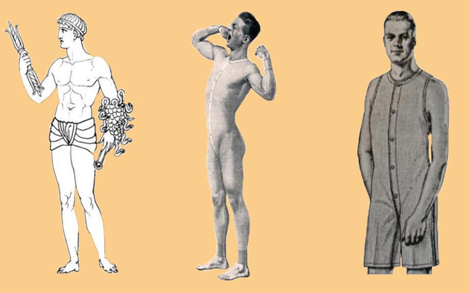 Lịch sử thú vị của chiếc... quần lót nam