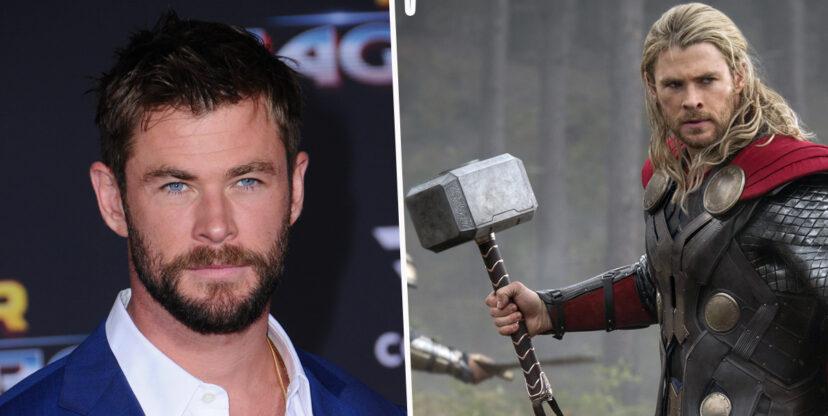 Nhà bao việc, vậy mà Chris Hemsworth còn 'thó' về tận 5 cây búa Mjolnir từ phim trường