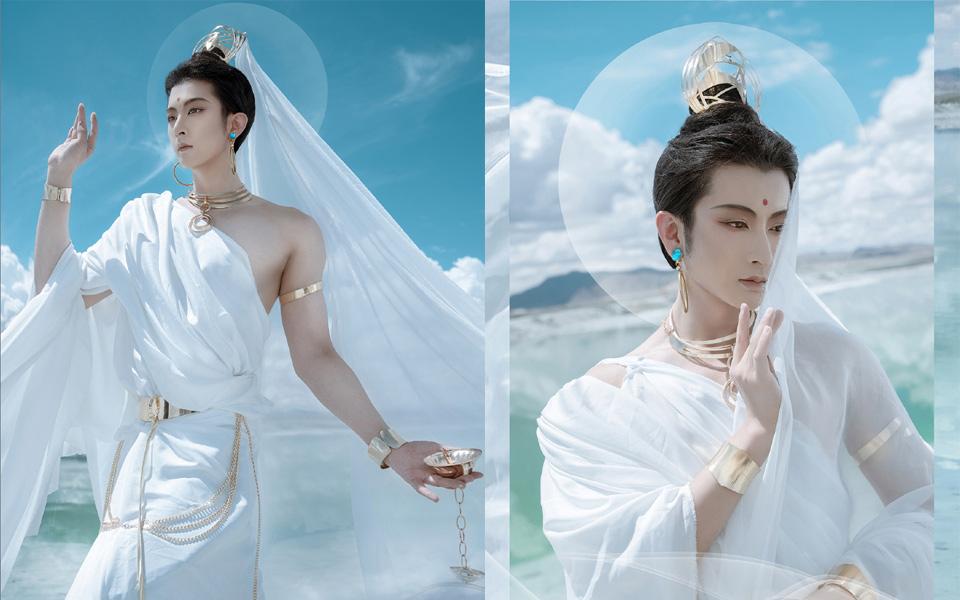 Bộ ảnh cosplay hơi hướng Phật giáo gây tranh cãi vì hình tượng ẻo lả