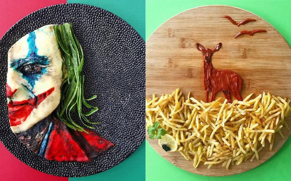 Biến đồ ăn thành kiệt tác nghệ thuật: Cả một sở thú 'ăn được' nhìn muốn chảy nước miếng
