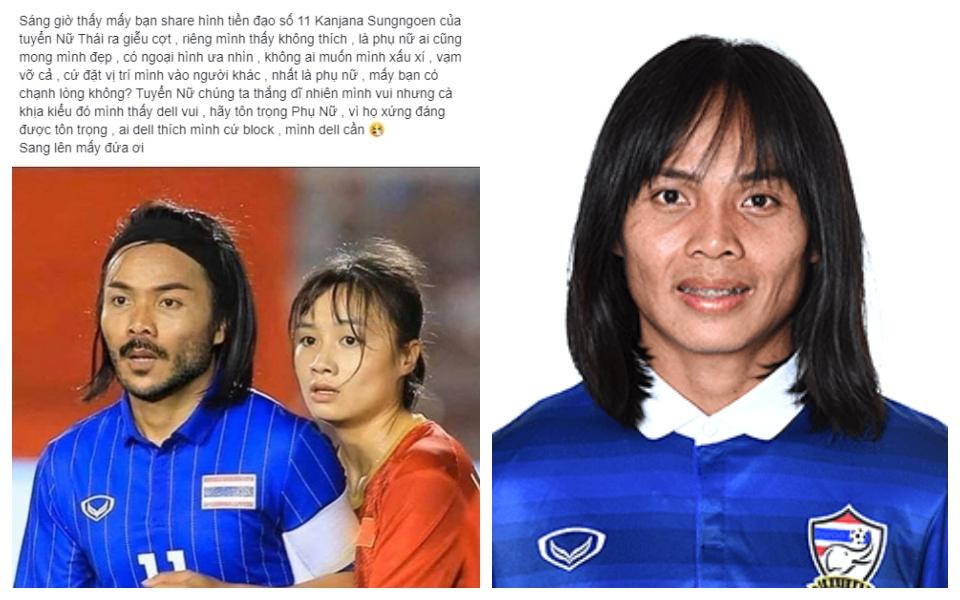 Dân mạng Việt Nam đặt câu hỏi về giới tính thật của nữ cầu thủ Thái Lan: Chính các chuyên gia cũng từng nghi ngờ!