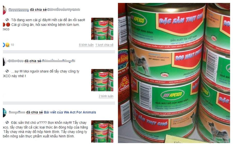 Thực hư chuyện 'thịt chó đóng hộp' sản xuất ở Ninh Bình khiến dân mạng phẫn nộ?