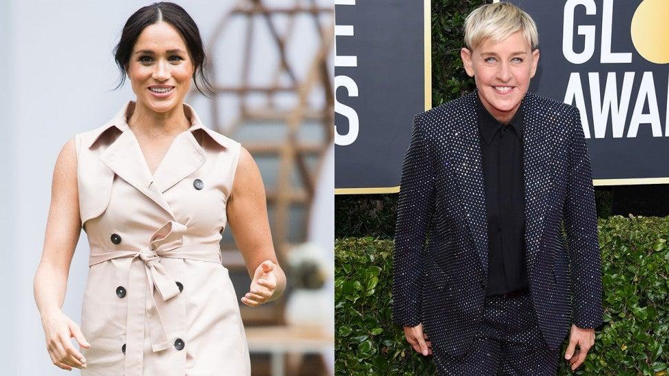 Nữ MC Ellen DeGeneres 'rất phấn khích' nếu có cuộc phỏng vấn đầu tiên với Meghan Markle từ khi cô rời Hoàng gia Anh