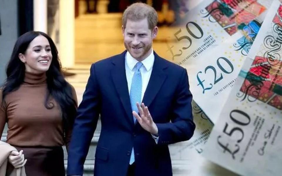 Hoàng tử Harry có bao nhiêu tài sản và anh nhận trợ cấp từ cha như thế nào?