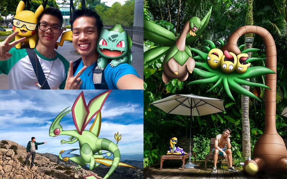 Quá đam mê, anh chàng này đã vẽ Pokémon vào các bức ảnh của mình trong suốt 3 năm