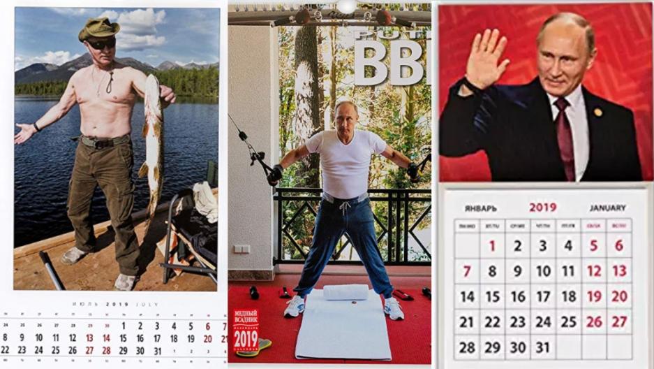 Vì sao Nhật Bản đang phát cuồng với lịch năm mới có hình tổng thống Nga Putin?