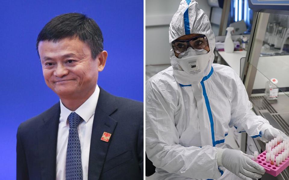 Tỷ phú Jack Ma quyên góp hơn 330 tỷ VNĐ để phát triển vắc-xin chống virus corona