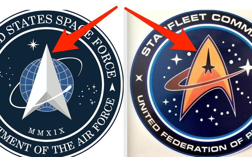Logo của Lực lượng Không gian Hoa Kỳ bị chê đạo nhái 'Star Trek'