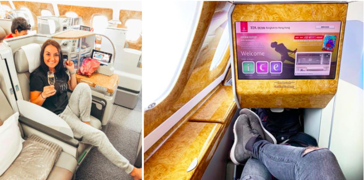 Thử cảm giác thượng lưu bên trong máy bay xịn nhất thế giới của hãng Emirates Airlines