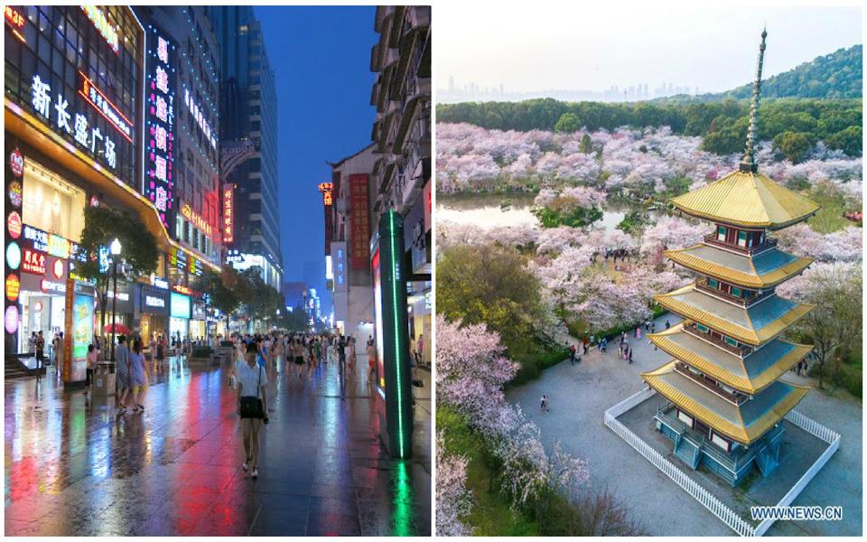 Vẻ đẹp yêu kiều của Vũ Hán trước khi trở thành 'thành phố ma' vì đại dịch Corona