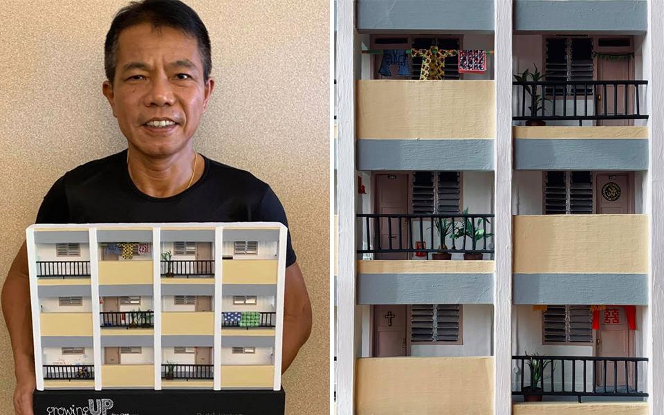 Kiến trúc sư Singapore tái hiện lại toà chung cư mình từng sống ngày thơ ấu