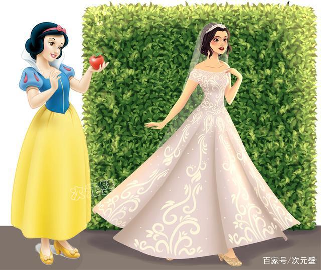 Ngất ngây trước hình ảnh công chúa Disney thời thượng với váy cưới hiện đại