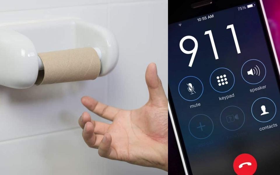 Khủng hoảng Covid-19: Dân Mỹ gọi 911 báo hết giấy vệ sinh, cảnh sát viết tâm thư bảo 'tự xử đi'