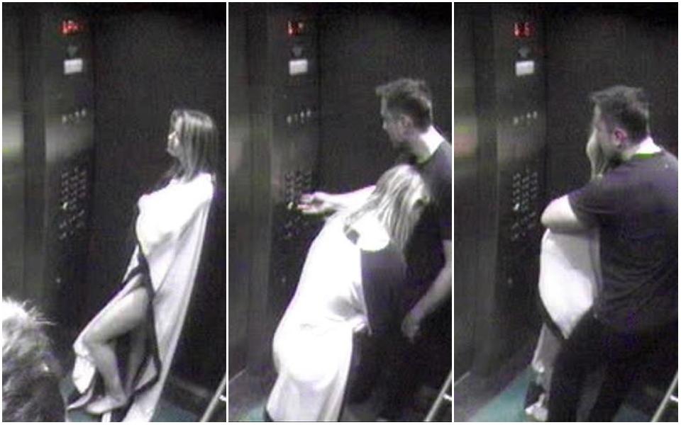 Lộ ảnh Amber Heard mặc áo tắm ôm ấp Elon Musk trong thang máy lên căn hộ của Johnny Depp