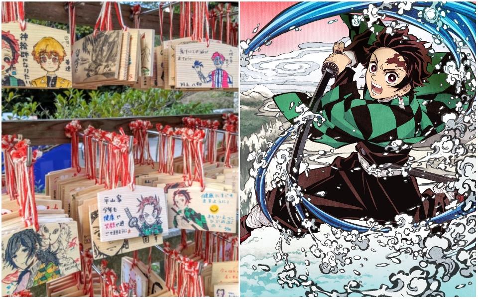 Người Nhật khẩn cầu tại ngôi đền cùng tên với anh hùng diệt quỷ trong anime, hy vọng vượt qua đại dịch Corona