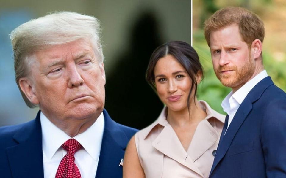Tổng thống Trump: 'Nước Mỹ sẽ không trả tiền vệ sĩ cho Harry và Meghan'