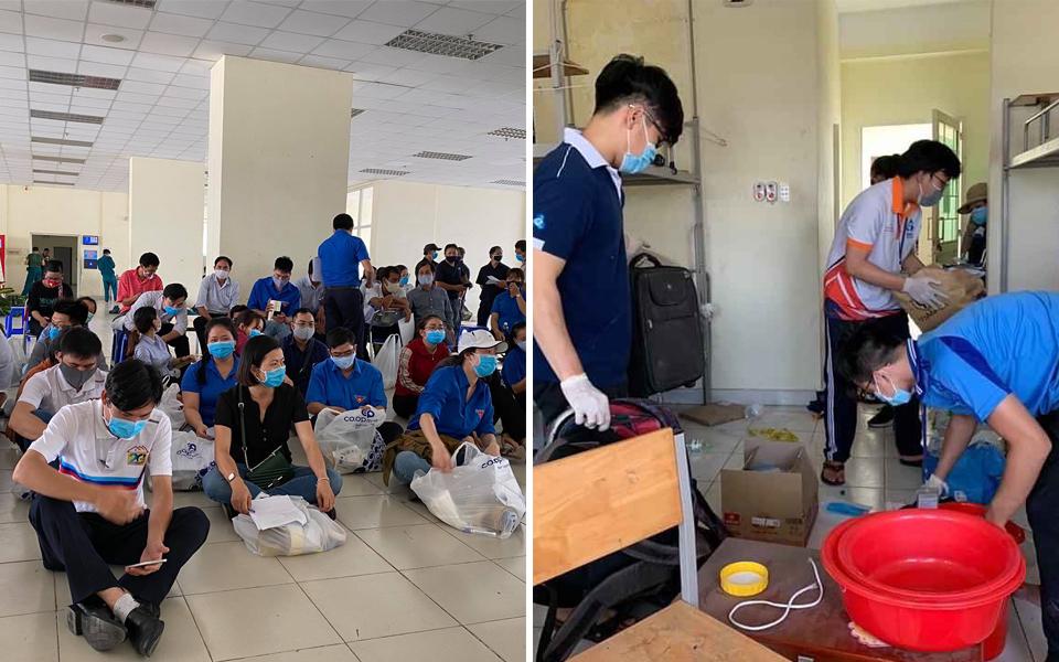 Hơn 400 sinh viên không ngại vất vả, sẵn sàng tham gia dọn dẹp KTX Đại học Quốc gia TPHCM để phục vụ cách ly