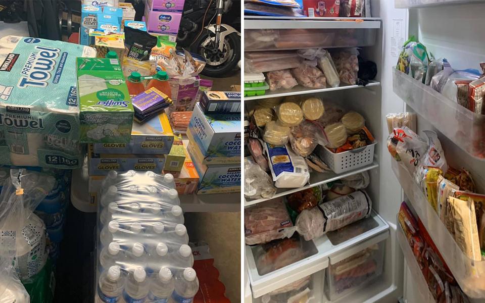 Chàng trai Mỹ gốc Việt 'hú hồn' khi mẹ mua đồ tích trữ đầy nhà trong mùa dịch Covid-19