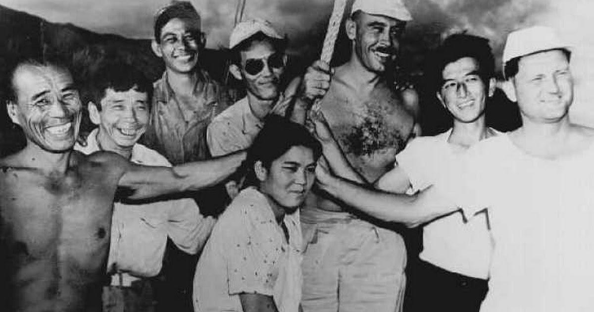 Ly kỳ chuyện người phụ nữ Nhật Bản sống cùng 32 gã đàn ông trên đảo hoang