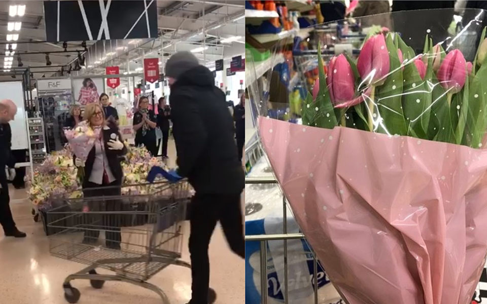 Một siêu thị ở Bắc Ireland nổi tiếng vì cách trả ơn nhân viên y tế đang chiến đấu dịch Covid-19 cực tinh tế