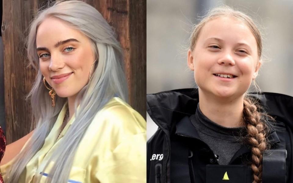 Sau hoàng tử Harry, Billie Eilish trở thành nạn nhân của hai danh hài người Nga chuyên giả dạng Greta Thunberg