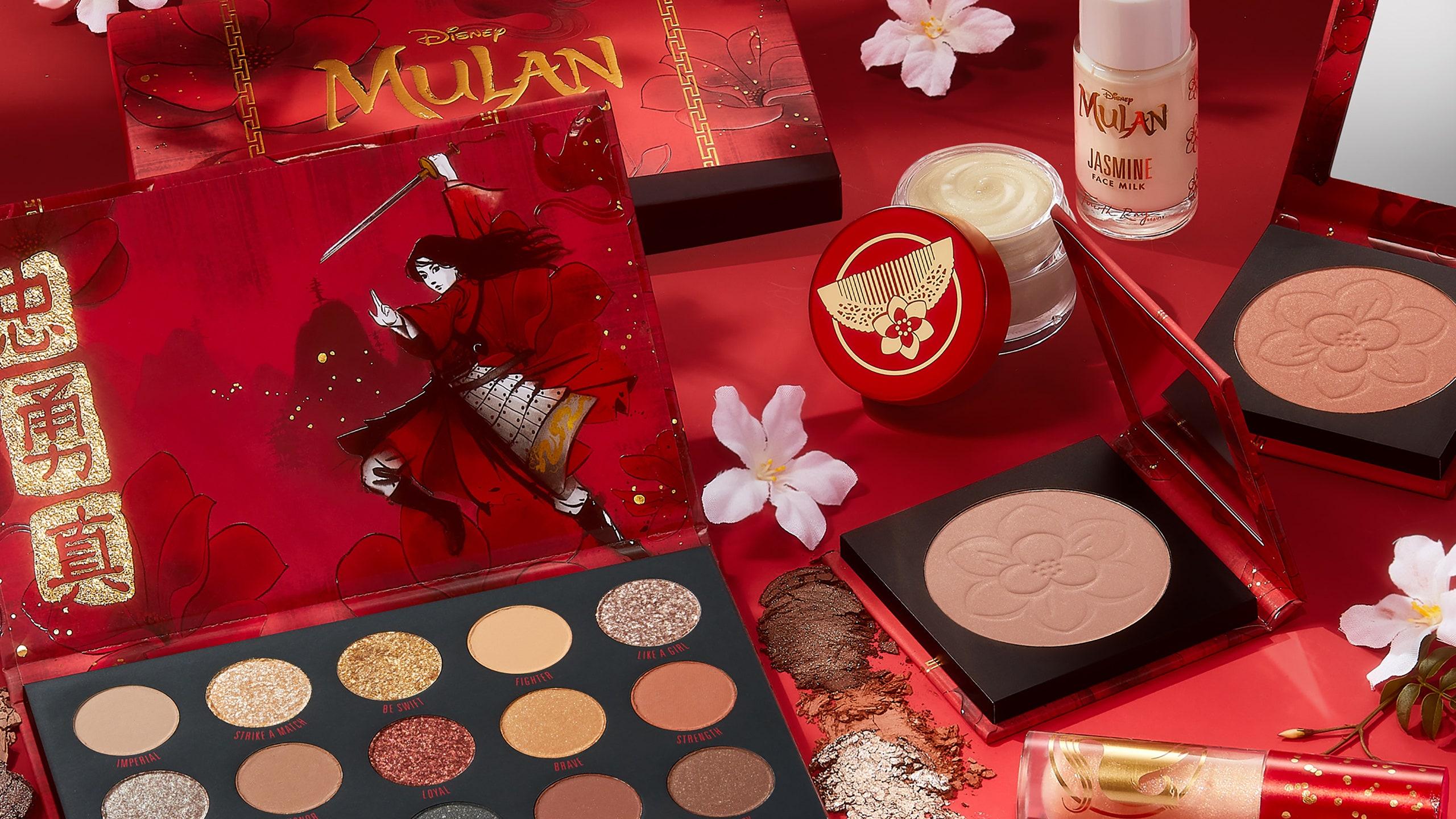 ColourPop tung bộ sưu tập mỹ phẩm bắt tay với bom tấn 'Mulan'