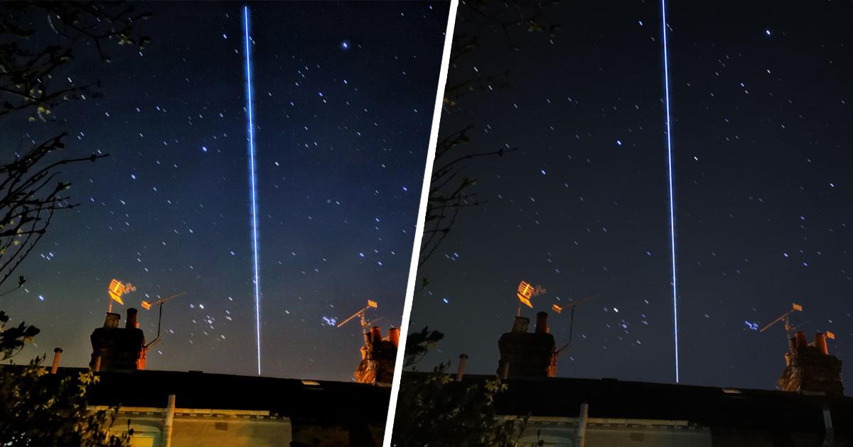 Nhiếp ảnh gia nghiệp dư ghi được khoảnh khắc siêu hiếm: Trạm vũ trụ Quốc tế bay qua Trái Đất