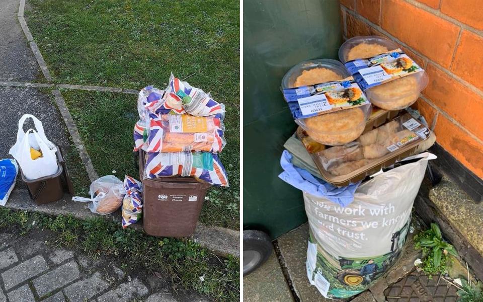 Người dân Anh vứt thức ăn hư thối ra đường vì tích trữ quá nhiều nhưng ăn không hết
