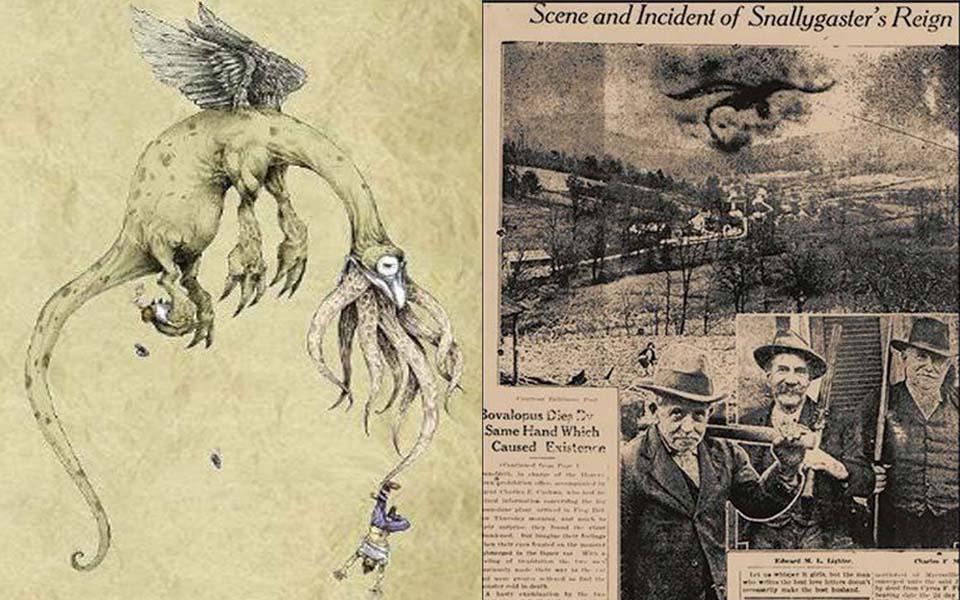Snallygaster - Sinh vật kỳ dị từ cái tên đến ngoại hình, khiến nhân gian chìm trong biển máu