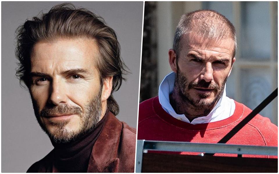 David Beckham đích thân đăng ảnh để thanh minh bản thân... không bị hói đầu