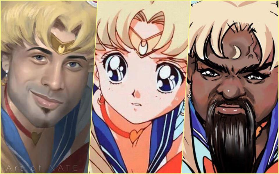 #SailormoonRedraw: Trào lưu vẽ lại Thủy thủ Mặt trăng  và 7749 fanart hài hước cười đau cơ bụng
