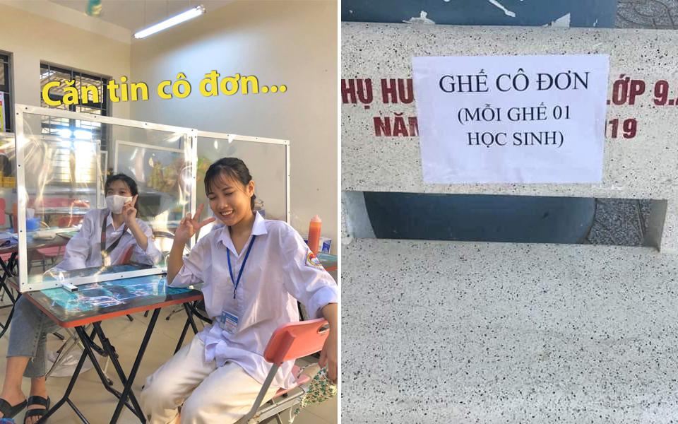 Series chuyện bi hài của học sinh cả nước trong ngày đầu tiên trở lại trường