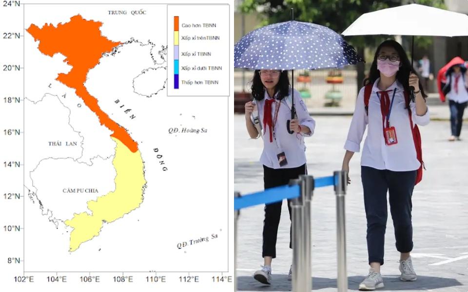 Sở GD-ĐT Vĩnh Phúc cho học sinh nghỉ học vì thời tiết nắng nóng