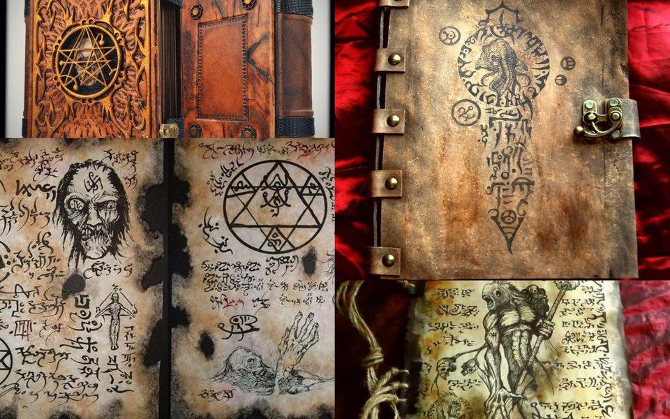 'Necronomicon': Cuốn sách dùng cổ ngữ kì dị nhất thế giới, nội dung gây tranh cãi vì cổ quái không ai hiểu