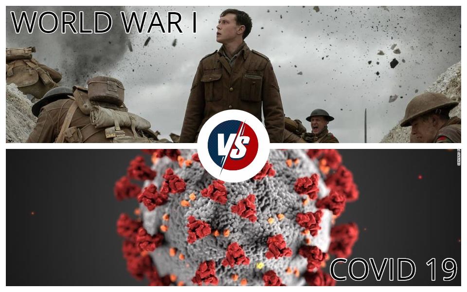 Covid-19 đã lấy đi mạng sống của nhiều người Mỹ hơn cả Thế Chiến thứ nhất