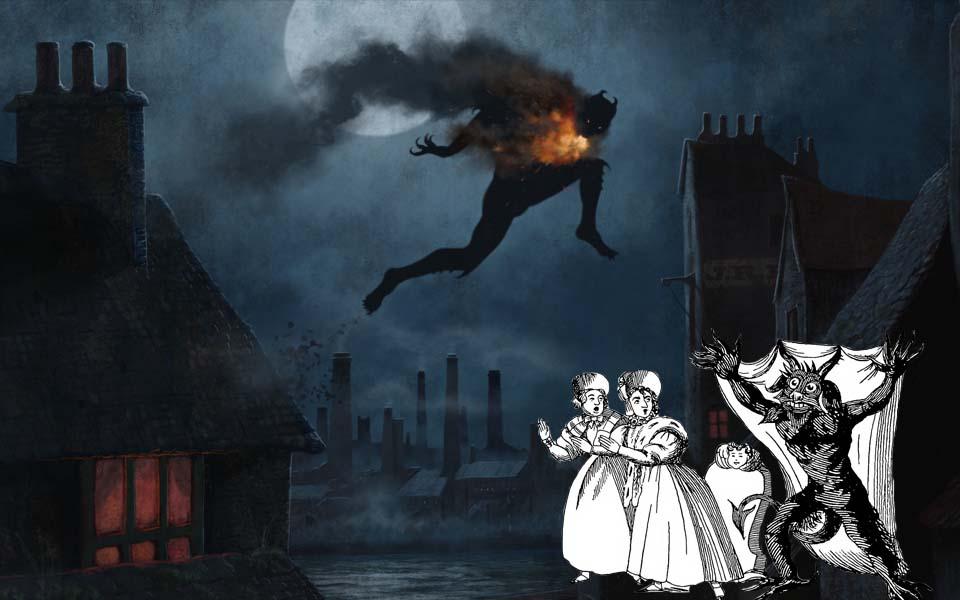 'Jack gót chân lò xo' - Bóng ma gây khiếp sợ vì bước nhảy ma quái