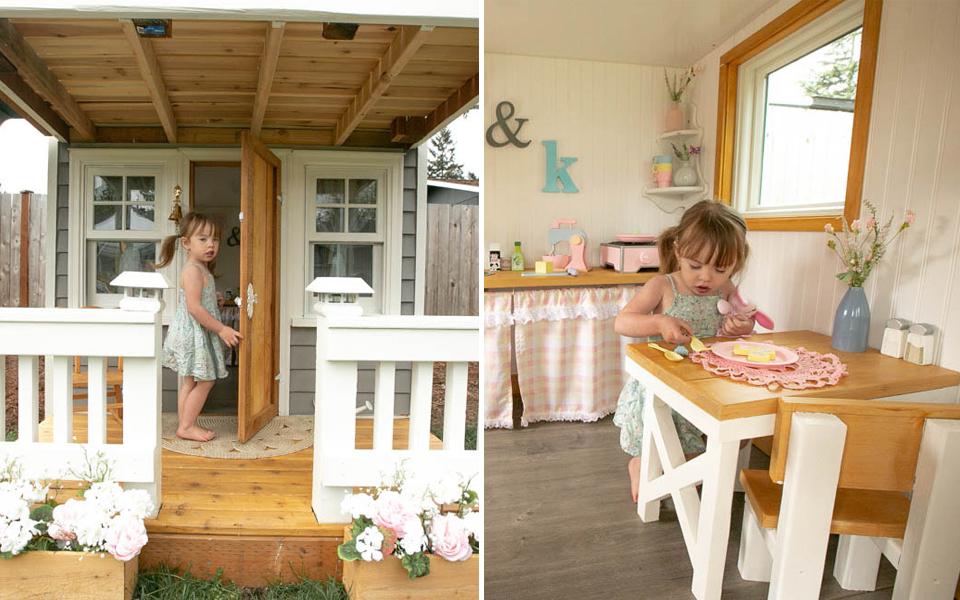 Ông bố khéo tay xây biệt thự mini cho con gái: Nội thất xịn xò, có thể 'chuyển hộ khẩu' vào ở luôn