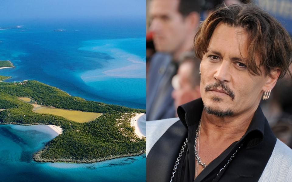 Johnny Depp sở hữu một hòn đảo được xem là thiên đường hạ giới - nơi giữ nhiều bí mật ít ai biết về anh