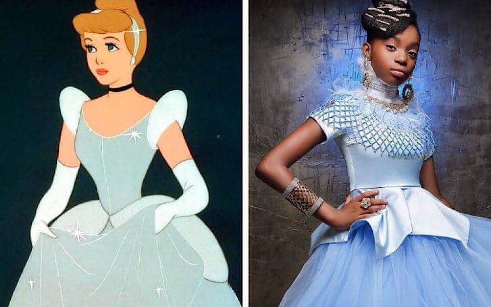 12 mẫu nhí da màu hóa thân thành công chúa Disney ngầu hơn cả bản gốc