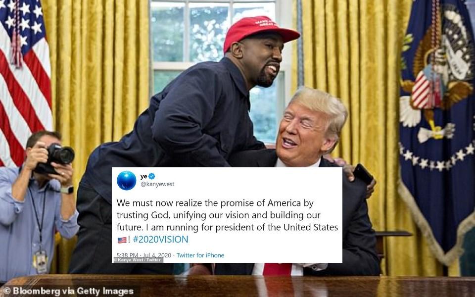 Kanye West muốn tranh cử tổng thống Mỹ, được Elon Musk ủng hộ