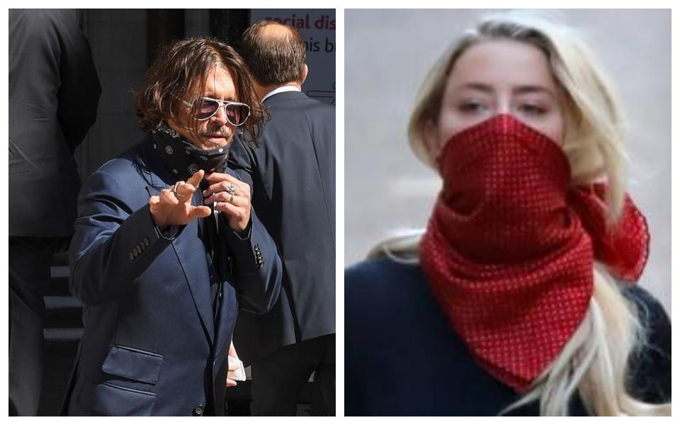 Amber Heard tung video Johnny Depp giận dữ đập phá nhà bếp trước tòa tối cao London