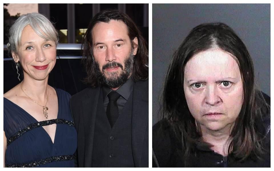 Keanu Reeves và bạn gái bị cụ bà 67 tuổi rình rập nhiều năm, là fan cuồng có lịch sử phạm tội đáng sợ