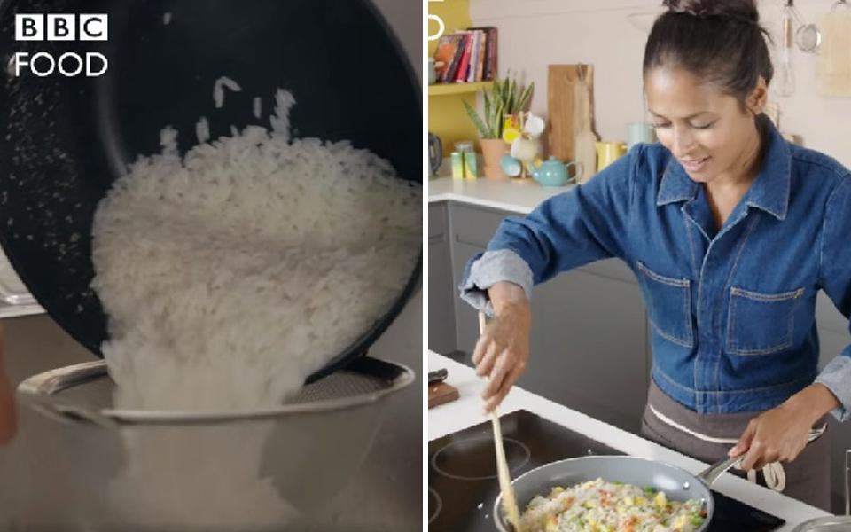 Show ẩm thực Anh khiến dân Châu Á 'khóc thét' vì không vo gạo, đợi cơm chín đi rửa lại với nước lạnh