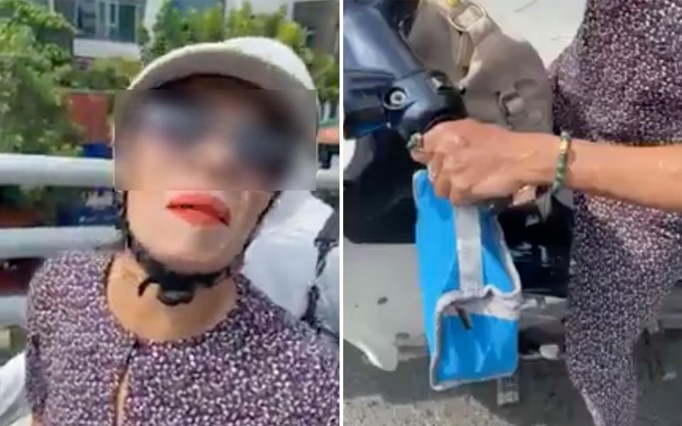 Người phụ nữ khiến dân tình 'cạn lời' khi thản nhiên đút túi của rơi lại còn quay sang chửi người bị mất