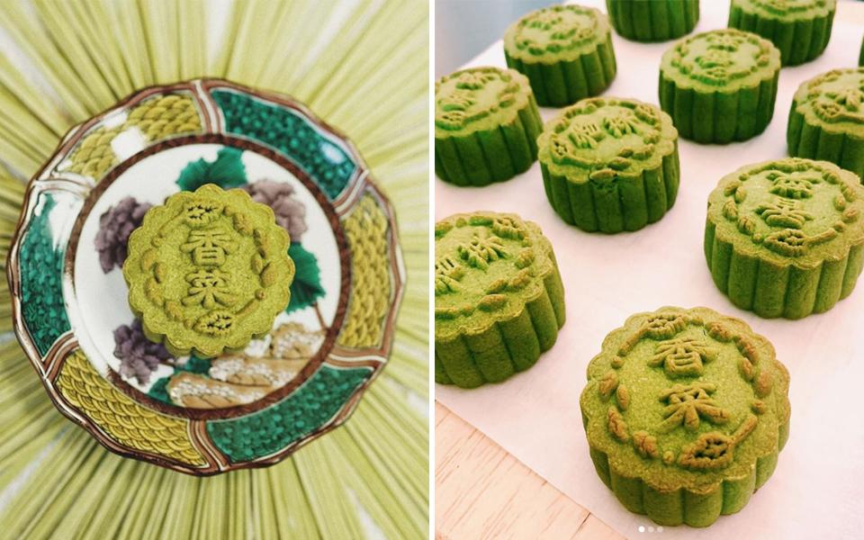 Tiệm bánh Hong Kong giới thiệu bánh trung thu... rau mùi cho một mùa trăng cách xa nhau hơn